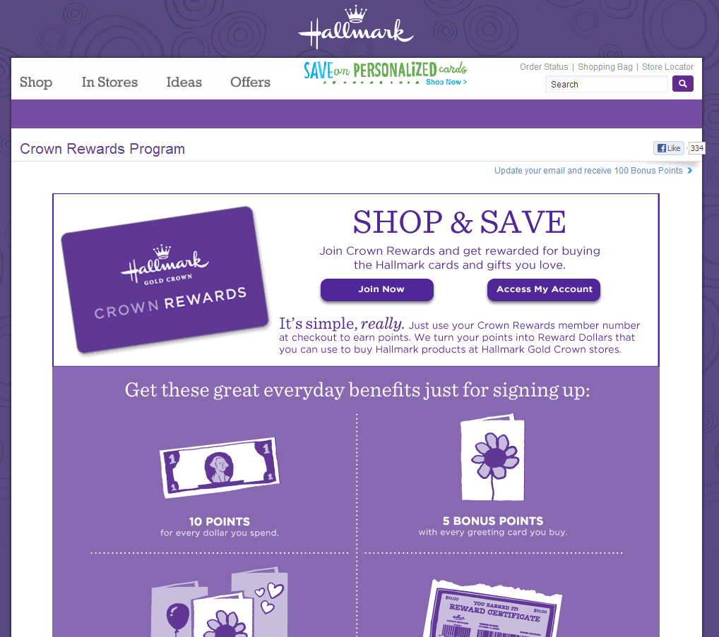 Hallmark - Crown Rewards