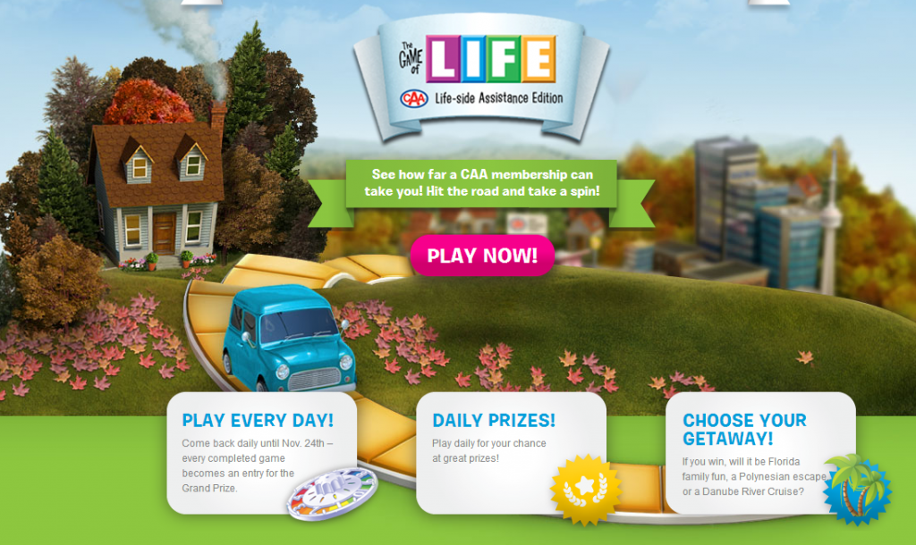 THE GAME OF LIFE - CAA Life-side Assistance Edition